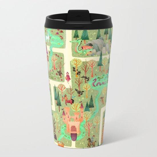 The Enchanted Forest  Metal Travel Mug