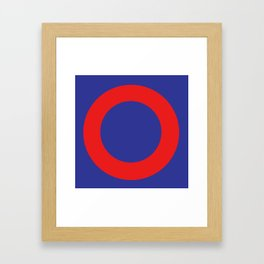 Phish Donut Framed Art Print