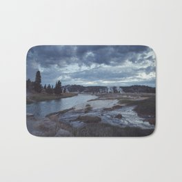 Hot Springs, Yellowstone Bath Mat