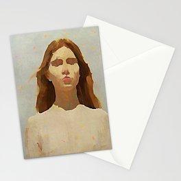 Confetti Rain - Kubistika by Boris Draschoff Stationery Cards