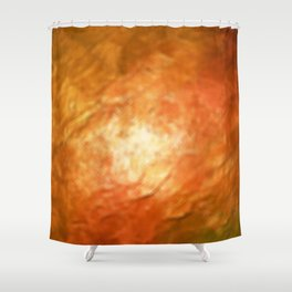 Ignition Cognition Abstract Shower Curtain