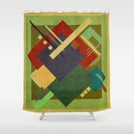Geometric illustration 31 Shower Curtain