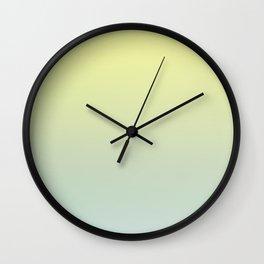 PARADISE COME - Minimal Plain Soft Mood Color Blend Prints Wall Clock