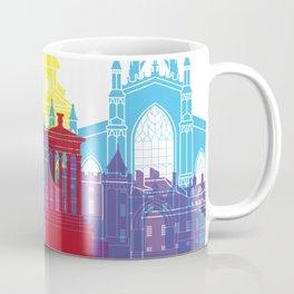Edinburgh skyline pop Coffee Mug