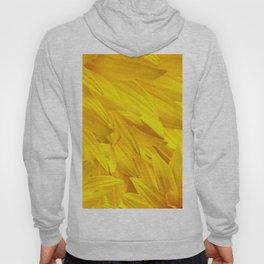 Sunflower Petals Monochrome Yellow Color #decor #society6 #buyart Hoody