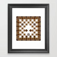 Pixel Donkey Framed Art Print