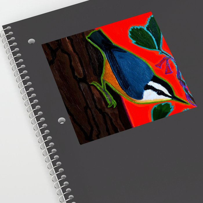 Red Breasted Nuthatch Sticker by WrenDreams - Transparent Background - 6