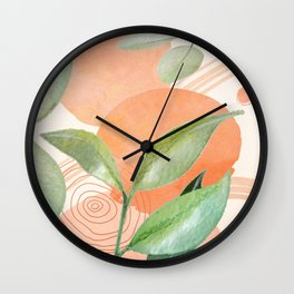 Elegant Shapes 26 Wall Clock