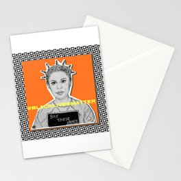 (Oitnb Crazy Eyes - Say Their Names) - yks by ofs珊 Stationery Cards