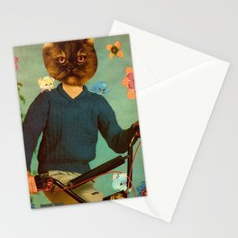 BMX Bandits handcut collage Stationery Cards