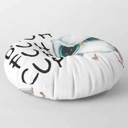 Owl Shuh Duh Fuh Cup Floor Pillow