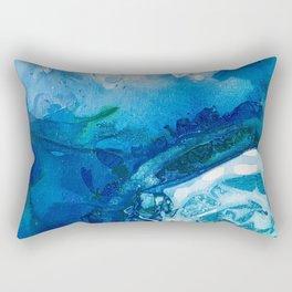 Deep Blue Ocean Life Rectangular Pillow