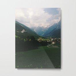 Engelberg, Switzerland. Metal Print