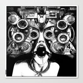 asc 712 - Le masque de la Méduse (Object woman) Canvas Print