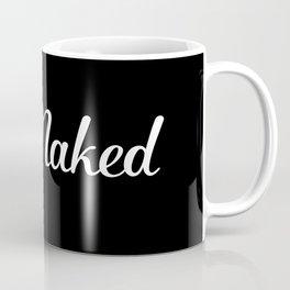 Get Naked - Black and White Coffee Mug