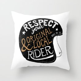 Respect Throw Pillow