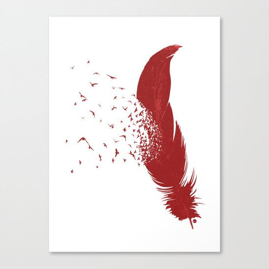 Birds of A Feather (Society6 Edition) Canvas Print