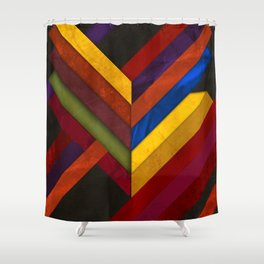 Abstract #279 Shower Curtain