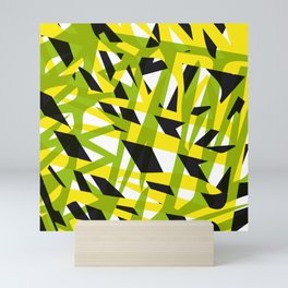 structure camouflage Mini Art Print