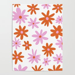 Bright Floral Poster