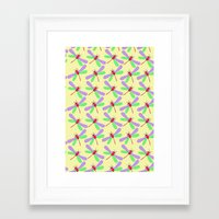 bugs Framed Art Prints featuring Bugs by Ophelia Mercedes