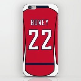 Madison Bowey Jersey iPhone Skin