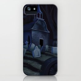 Sleepy Hollow Churchyard Cemetery iPhone Case