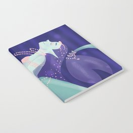 Pearl Mermaid Notebook