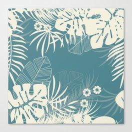 Tropical pattern 047 Canvas Print