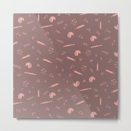 Artistic paint pattern Metal Print