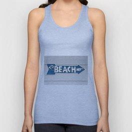 To Beach Unisex Tank Top