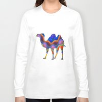 camel Long Sleeve T-shirts featuring Camel by haroulita