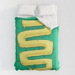 Infinite Weiner Dog Comforters