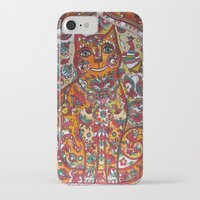 russian iPhone & iPod Cases featuring Russian cat  by oxana zaika