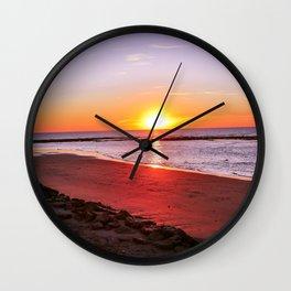 rota spain beach 14 Wall Clock