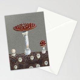 Mushroom folk Stationery Cards
