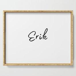 Erik Calligraphy Serving Tray
