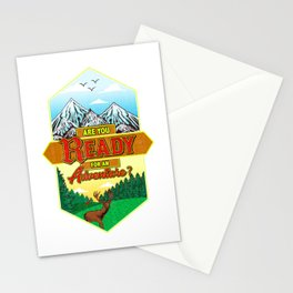 Are You Ready For An Adventure? Hunting Exploring Stationery Cards