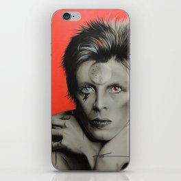'Bolt of Bowie' iPhone Skin