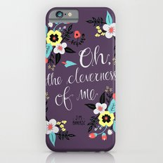 Cleverness of Me iPhone 6s Slim Case