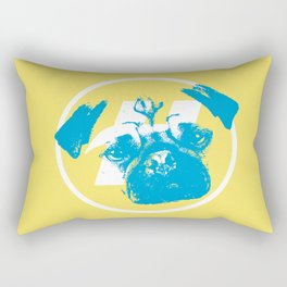 BLUE DOG Rectangular Pillow