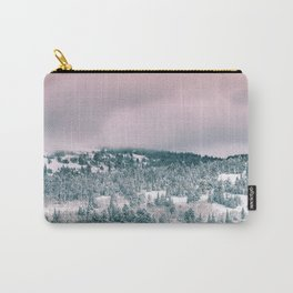 Blush Sky in Woodland Heights Carry-All Pouch
