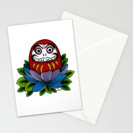 Daruma Doll Stationery Cards