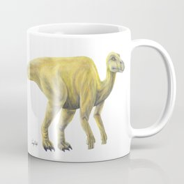 Yellow Hadrosaur Coffee Mug