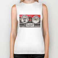 danny haas Biker Tanks featuring MG Danny by Catherine Doolan