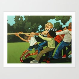 Together We Can! Art Print