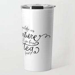 Adventure or tea Travel Mug