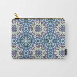 winter mandala pattern Carry-All Pouch
