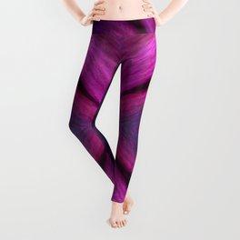 purple wave Leggings