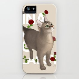 Abyssinian Cat Hina iPhone Case